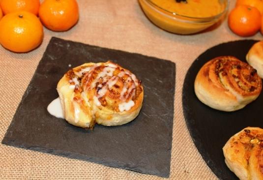 Bollos de Mandarina y Pistachos