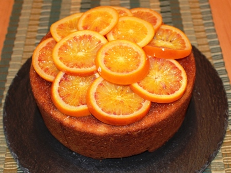 Bizcocho de Naranja Sanguina